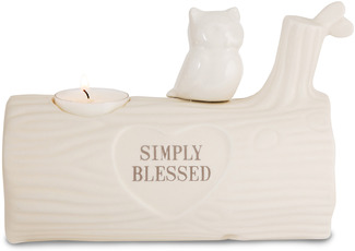 "Simply Blessed by Heavenly Woods - 4.5"" Candle Holder"