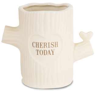 "Cherish Today by Heavenly Woods - 5.5"" Vase"