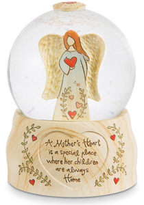 A Mother's Heart by Heavenly Woods - 100mm Musical  Water Globe