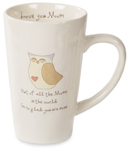 Mom by Heavenly Woods - 18 oz Mug