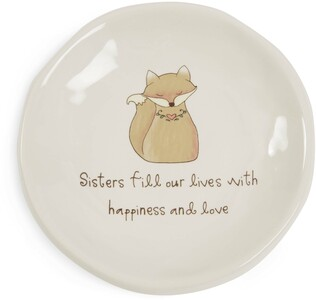 "Sister by Heavenly Woods - 4.25"" Keepsake Dish"