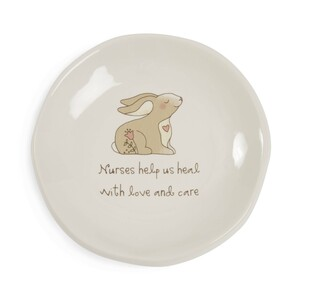 "Nurse by Heavenly Woods - 4.25"" Keepsake Dish"