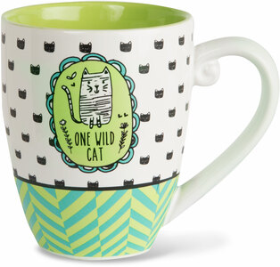 Wild Cat by It's Cats and Dogs - 20 oz. Cup