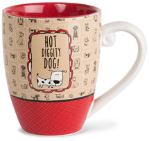 Hot Diggity Dog by It's Cats and Dogs - 20 oz. Cup