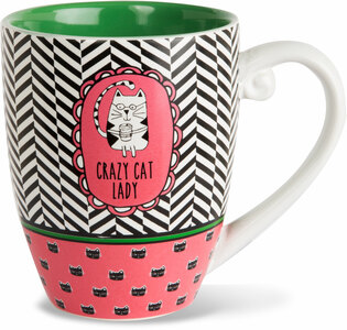 Crazy Cat Lady by It's Cats and Dogs - 20 oz. Cup