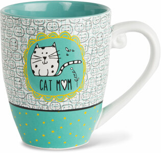Cat Mom by It's Cats and Dogs - 20 oz. Cup