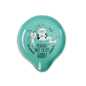 "Tastes Good by It's Cats and Dogs - 5"" Spoon Rest"