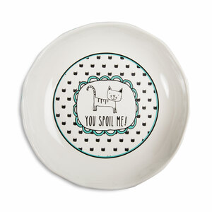 "Spoil Me by It's Cats and Dogs - 7"" Shallow Bowl"