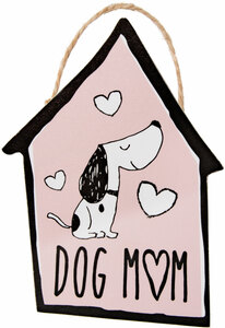 "Dog Mom by It's Cats and Dogs - 4"" Ornament with Magnet"