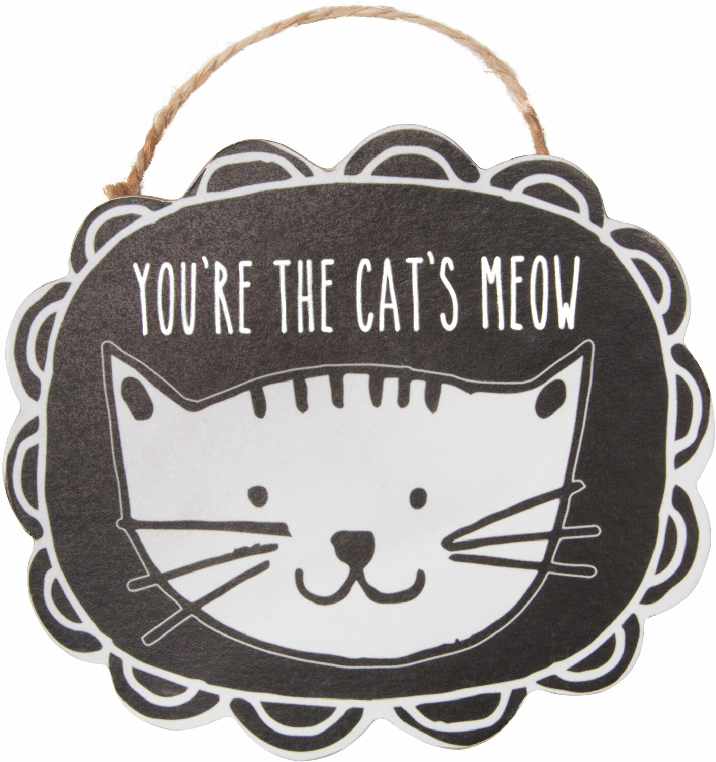 "Cat's Meow by It's Cats and Dogs - Cat's Meow - 4"" Ornament with Magnet"