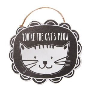 "Cat's Meow by It's Cats and Dogs - 4"" Ornament with Magnet"