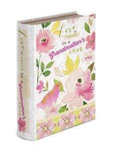 "Grandmother by Vintage by Stephanie Ryan - 6.5"" x 2"" x 8.5"" Musical Book Box"