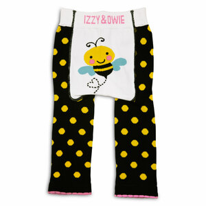 Yellow and Black Bee by Izzy & Owie - 6-12 Month Baby Leggings