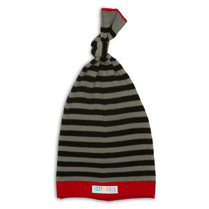 Gray and Black Stripe by Izzy & Owie - 0-12 Month Baby Hat