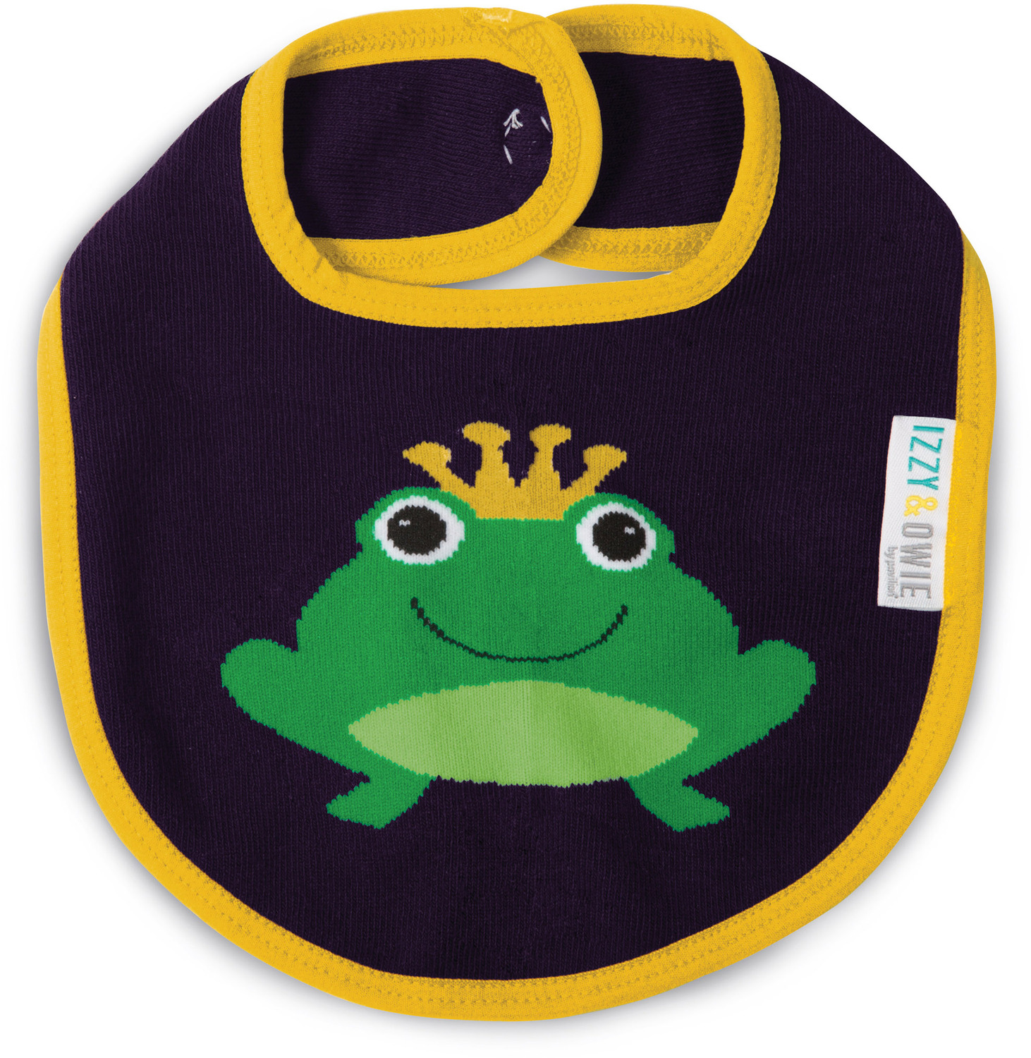Green And Navy Froggy Baby Bib Izzy Amp Owie Pavilion
