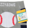 Blue and Gray Baseball by Izzy & Owie - Package