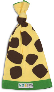 Green and Yellow Giraffe by Izzy & Owie - One Size Fits All Baby Hat
