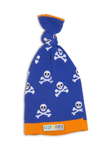 Blue Pirate  by Izzy & Owie - One Size Fits All Baby Hat