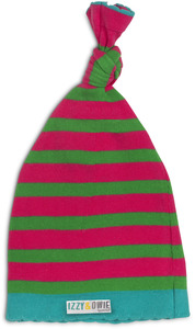 Pink and Green Stripe by Izzy & Owie - One Size Fits All Baby Hat