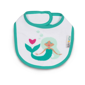 Seafoam Mermaid by Izzy & Owie -  Baby Bib