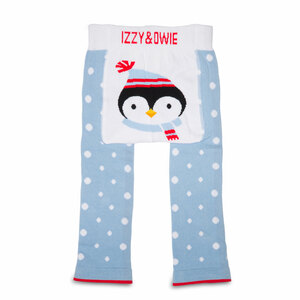 Winter Penguin by Izzy & Owie - 6-12 Months Baby Leggings