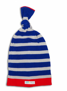Red and Blue Train by Izzy & Owie - One Size Fits All Baby Hat