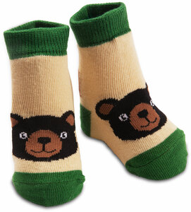 Black Bear by Izzy & Owie - 0-12 Sock