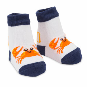 Nautical Crab by Izzy & Owie - 0-12 Sock