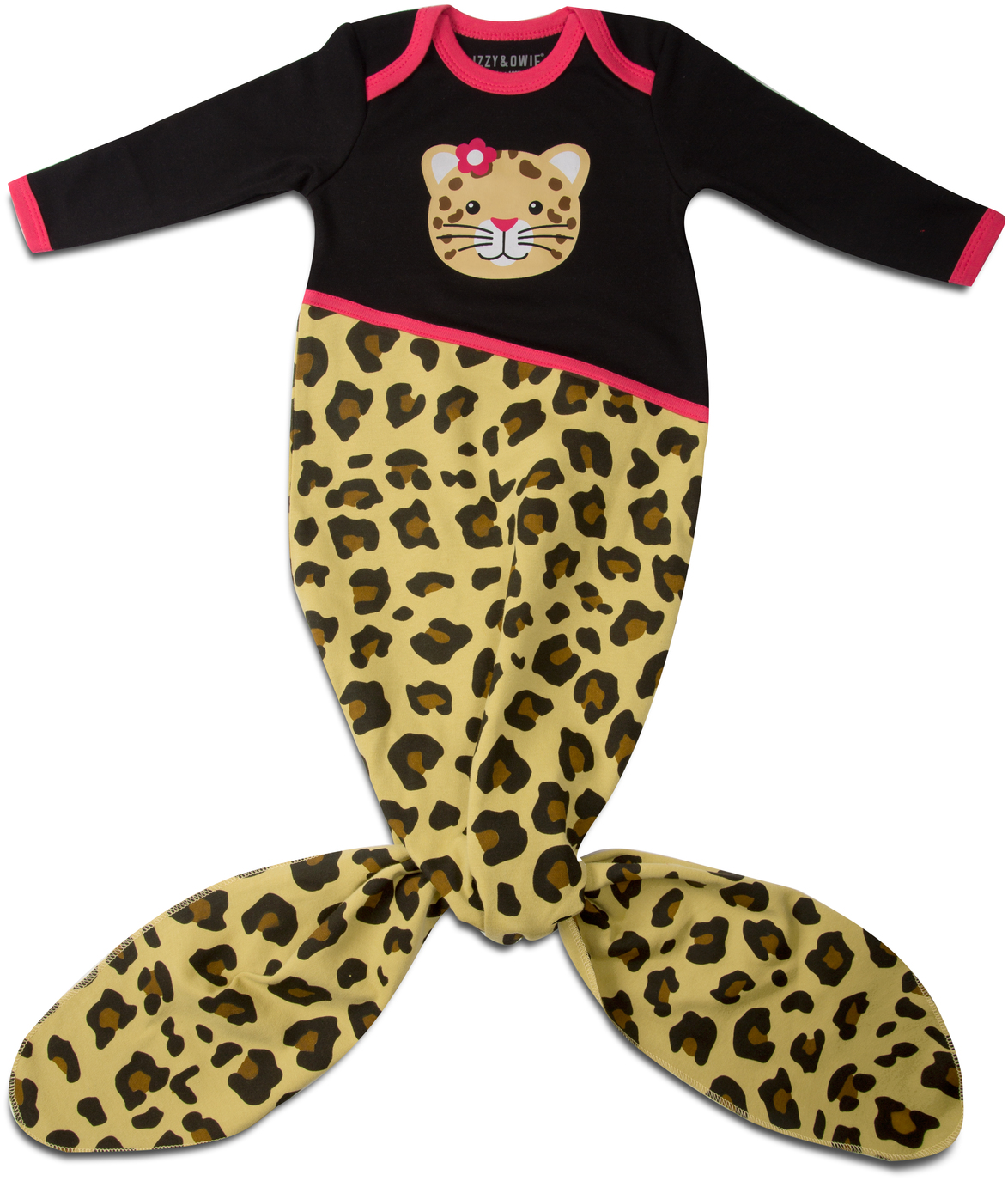 Jungle Cat by Izzy & Owie - Jungle Cat - 0-9 Months Knotted Onesie
