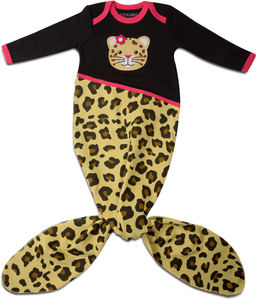 Jungle Cat by Izzy & Owie - 0-9 Months Knotted Onesie