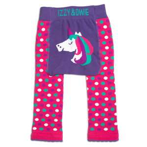 Rainbow Unicorn by Izzy & Owie - 6-12 Months Baby Leggings