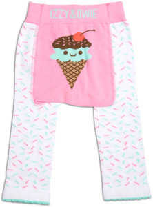 Pink & Mint Ice Cream by Izzy & Owie - 6-12 Months Baby Leggings