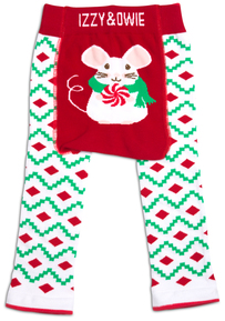 Christmas Mouse by Izzy & Owie - 12-24 Months Baby Leggings