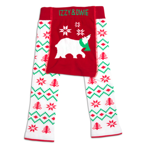 Christmas Polar Bear by Izzy & Owie - 6-12 Months Baby Leggings