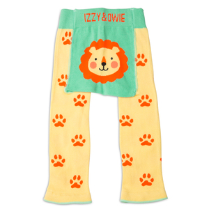 Yellow Safari Lion by Izzy & Owie - 6-12 Months Baby Leggings