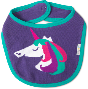 Rainbow Unicorn by Izzy & Owie - Baby Bib