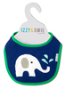 Blue & Green Elephant by Izzy & Owie - Hanger