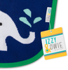 Blue & Green Elephant by Izzy & Owie - Package