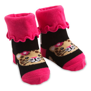 Jungle Cat by Izzy & Owie - 0-12 Months Socks