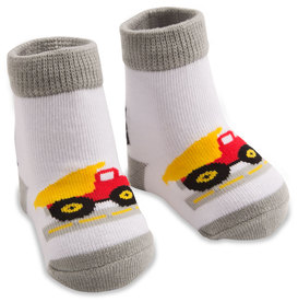 Truck by Izzy & Owie - 0-12 Months Socks