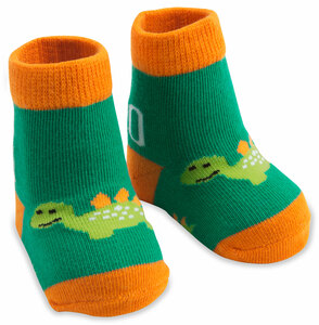 Dino by Izzy & Owie - 0-12 Months Socks
