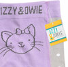 Soft Lavender Kitty by Izzy & Owie - Tag