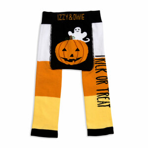 Trick or Treat by Izzy & Owie - 6-12 Months Baby Leggings
