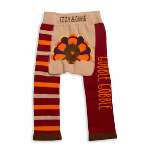 Gobble Gobble by Izzy & Owie - 6-12 Months Baby Leggings