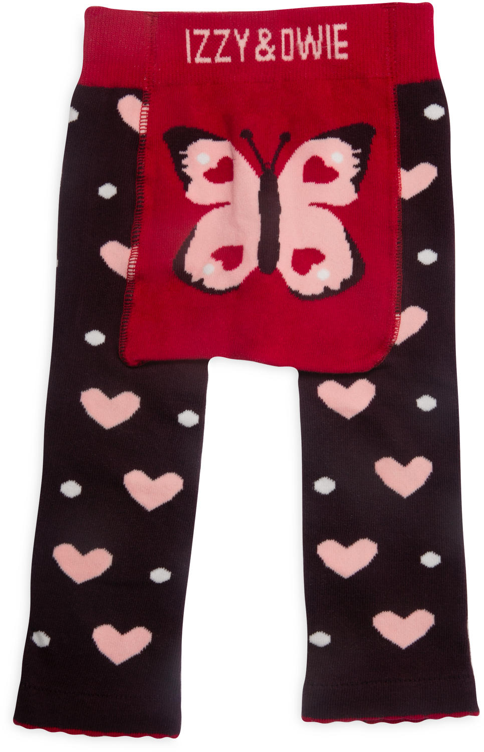Butterfly Hearts by Izzy & Owie - Butterfly Hearts - 6-12 Months Baby Leggings