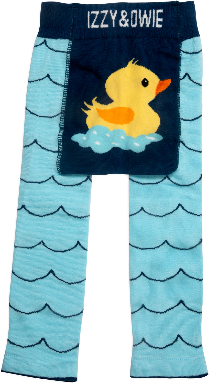 Rubber Ducky by Izzy & Owie - Rubber Ducky - 6-12 Months Baby Leggings