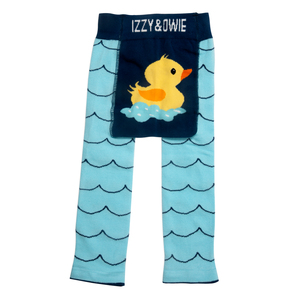 Rubber Ducky by Izzy & Owie - 6-12 Months Baby Leggings