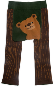 Brown Bear by Izzy & Owie - 6-12 Months Baby Leggings