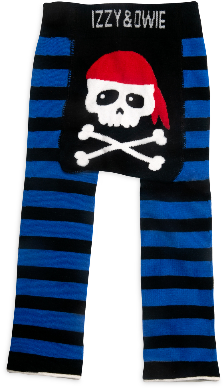 Happy Pirate by Izzy & Owie - Happy Pirate - 6-12 Months Baby Leggings