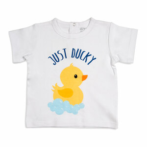 Rubber Ducky by Izzy & Owie - 12-24 Months White T-Shirt